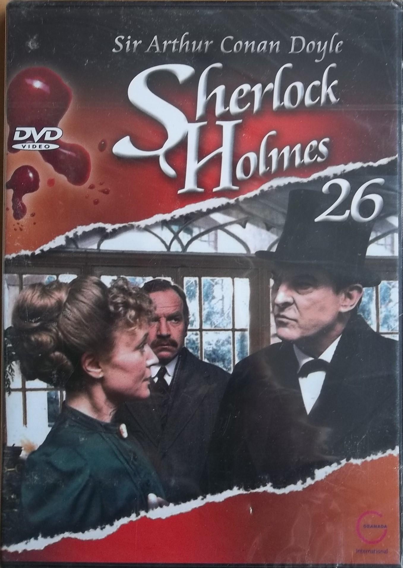 Sherlock Holmes 26 - Lepenková krabice DVD