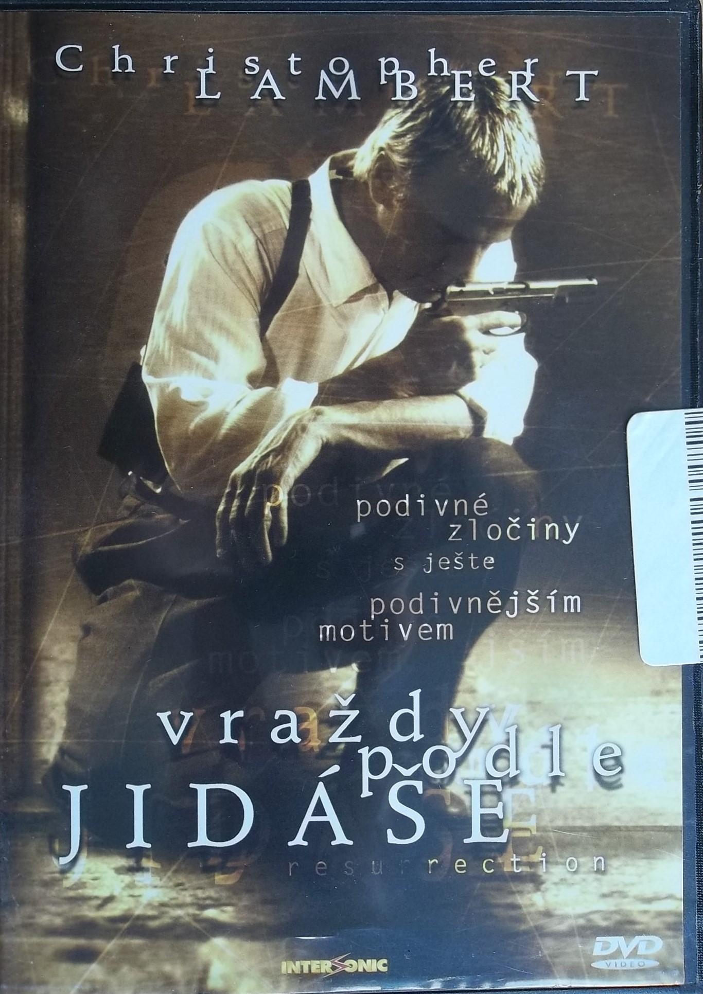 Vraždy podle Jidáše - DVD slim