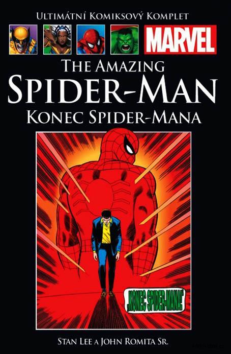 Ultimátní komiksový komplet - The Amazing Spider-Man: konec  Spider-Mana (hřbet9