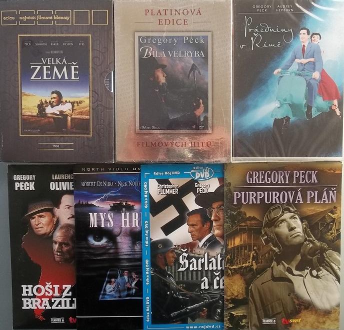 Kolekce Gregory Peck 7DVD