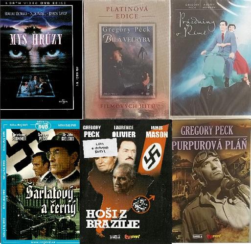 Kolekce Gregory Peck 6DVD