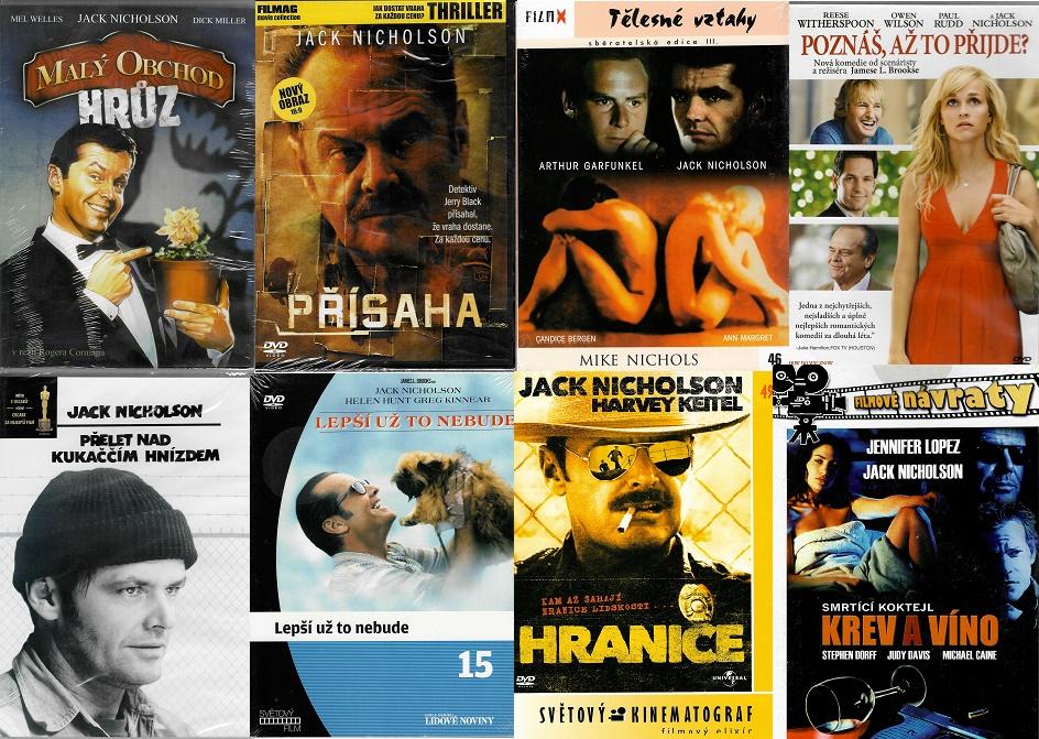 Kolekce Jack Nicholson 8 DVD