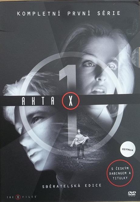 Kolekce Akta X 1. série 7DVD - DVD
