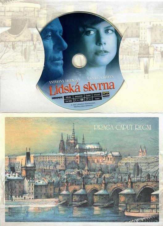 Lidská skvrna ( dárkový papír obal ) - DVD