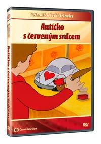 Autíčko s červeným srdcem - DVD