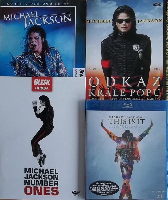 Kolekce Michael Jackson 3DVD+Blu-Ray