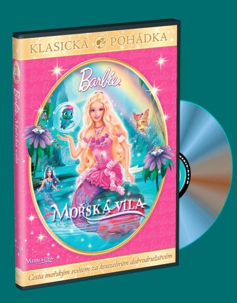 Barbie - Mořská víla DVD
