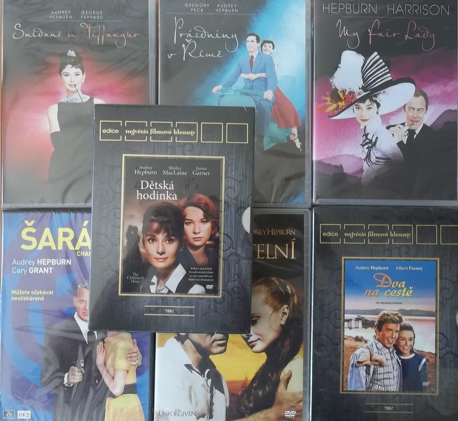 Kolekce Audrey Hepburn 7DVD