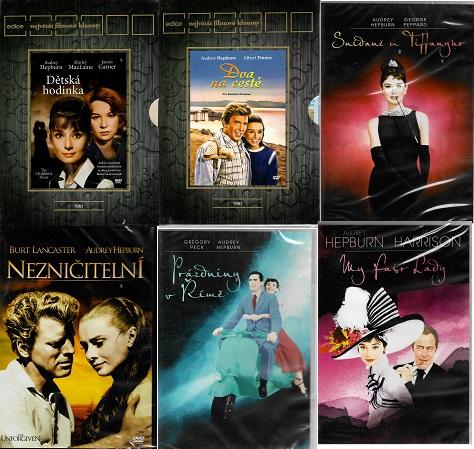 Kolekce Audrey Hepburn 6 DVD