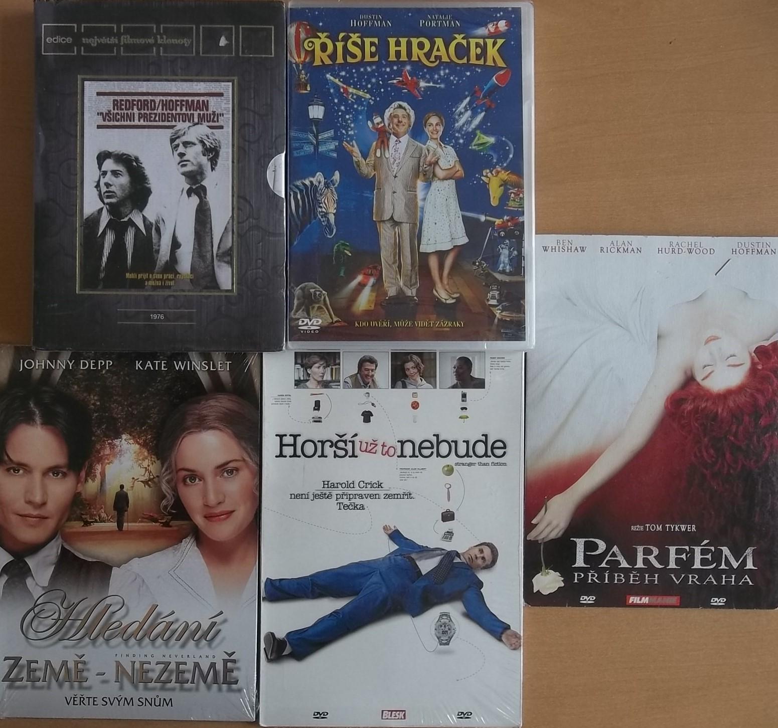 Kolekce Dustin Hoffman - 10 DVD