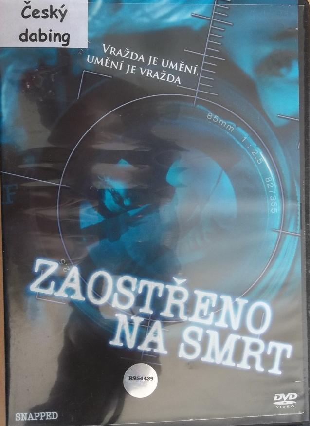 Zaostřeno na smrt - DVD plast