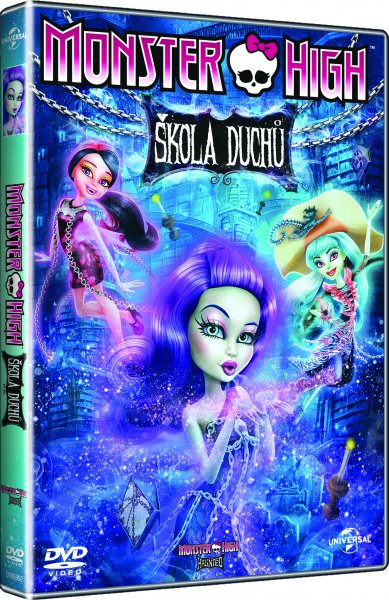 Monster High: Škola duchů DVD