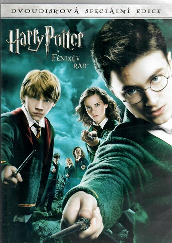 Harry Potter a Fénixův řád 2DVD
