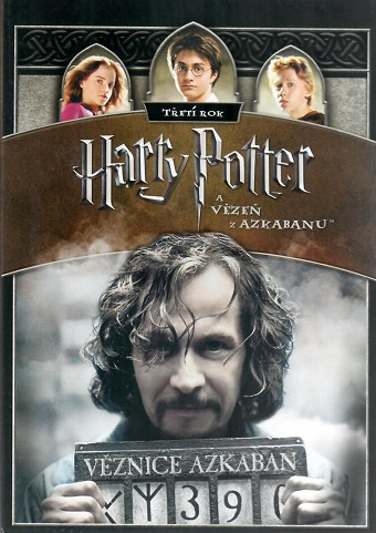 Harry Potter a Vězeň z Azkabanu 1DVD