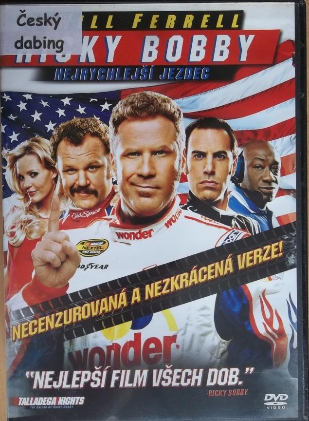 Ricky Bobby - nejrychlejší jezdec (bazarové zboží) DVD