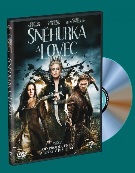 Sněhurka a lovec ( plast ) DVD