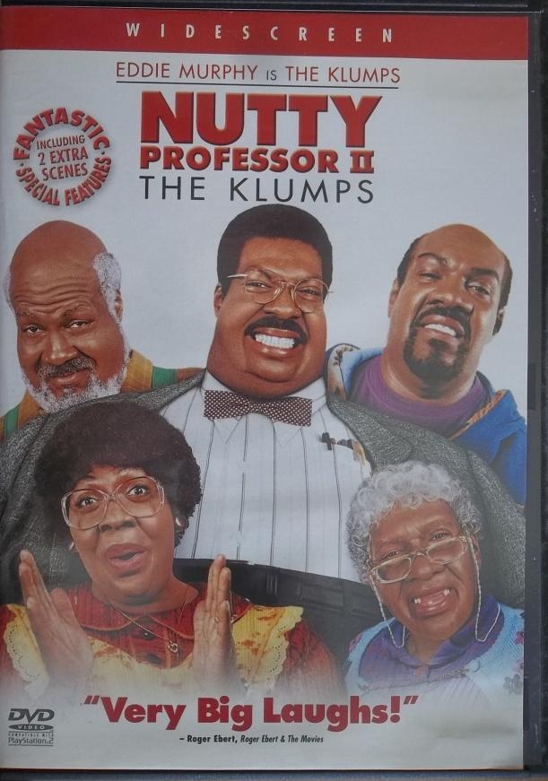 Nutty professor 2 (bazarové zboží) DVD