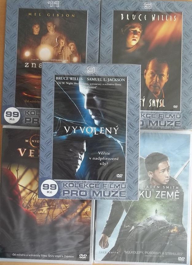 Kolekce M. Night Shyamalan - 5 DVD