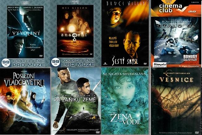 Kolekce M. Night Shyamalan - 8 DVD