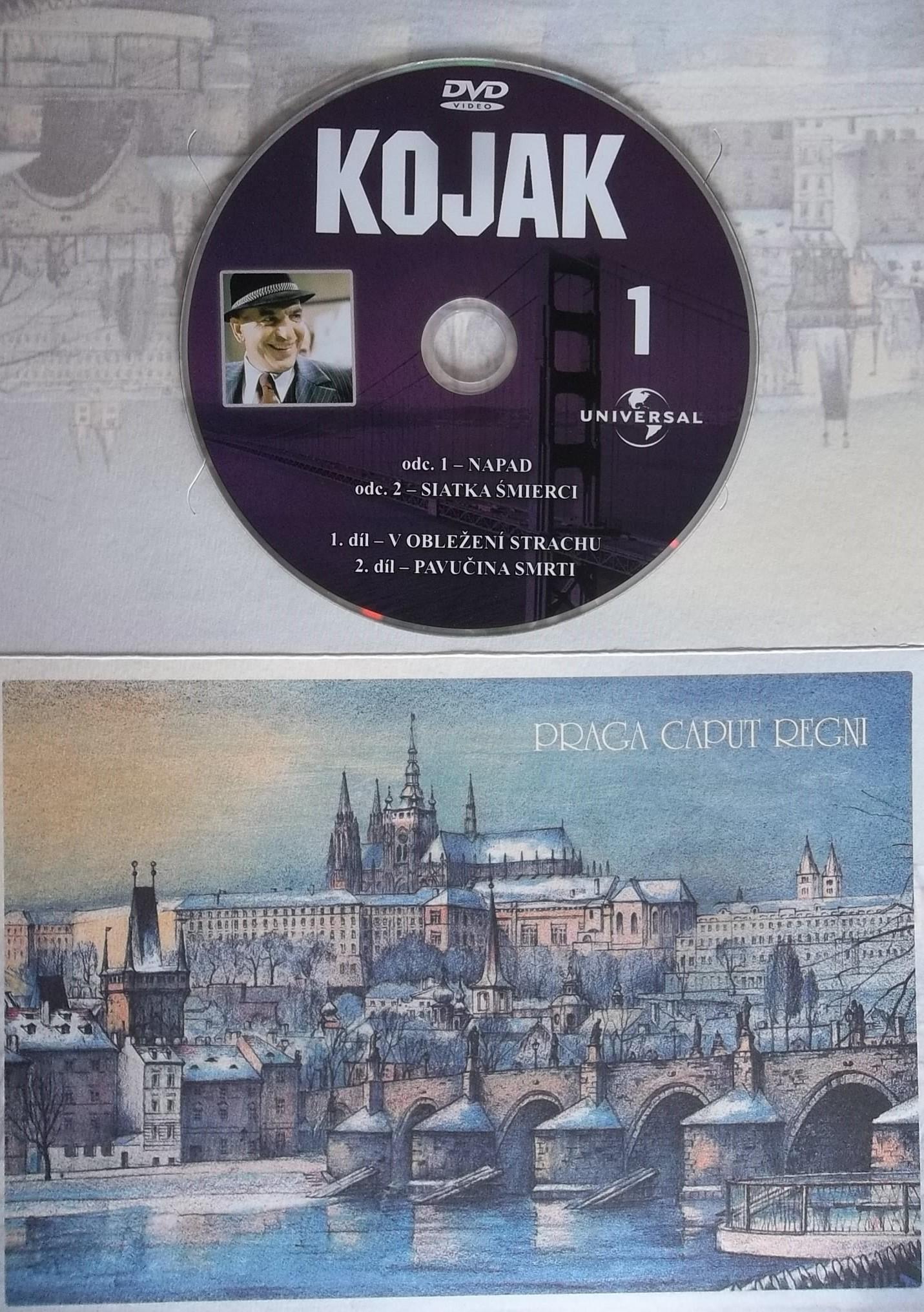 Kojak 1 (dárková obálka) DVD