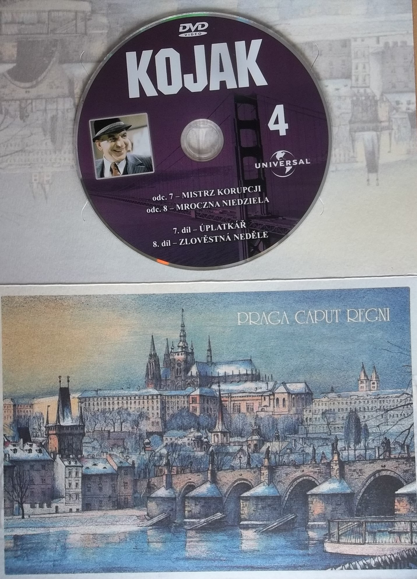 Kojak 4 (dárková obálka) DVD