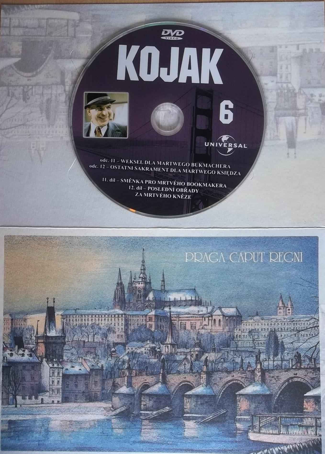 Kojak 6 (dárková obálka) DVD