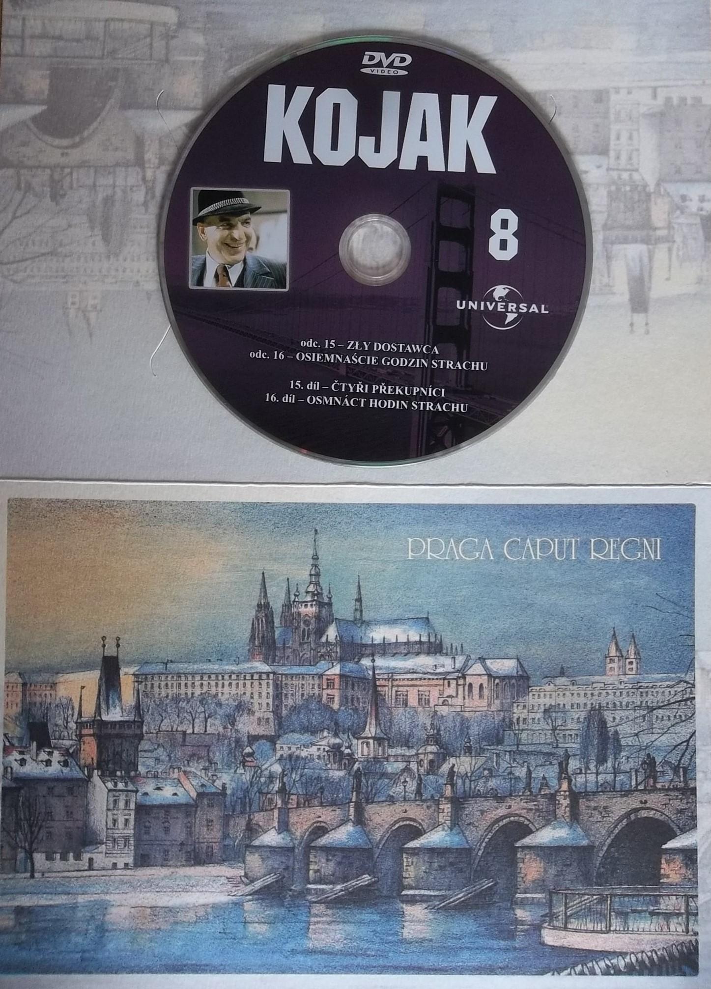 Kojak 8 (dárková obálka) DVD