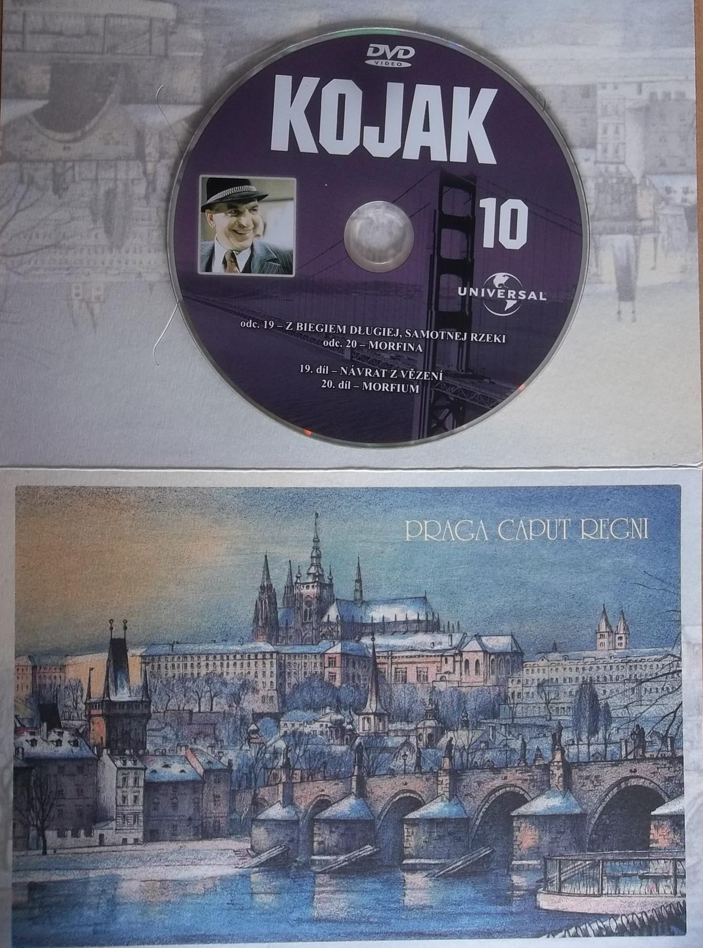 Kojak 10 (dárková obálka) DVD