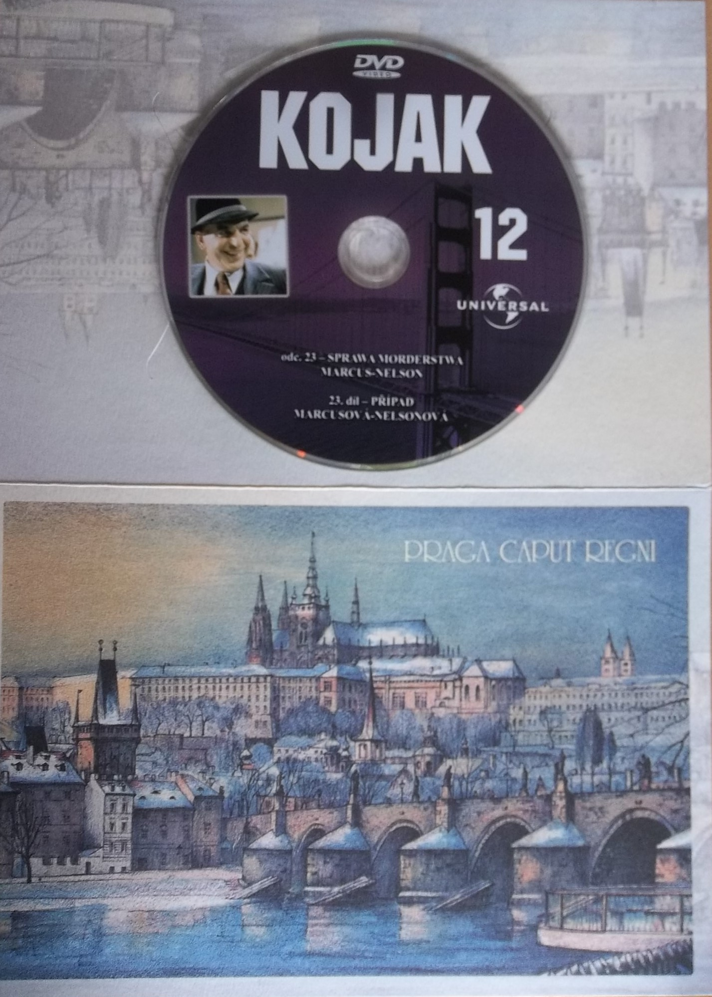 Kojak 12 (dráková obálka) DVD