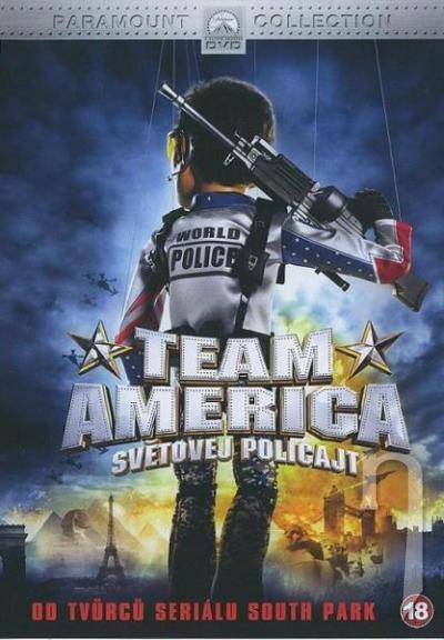 Team America - světovej policajt DVD