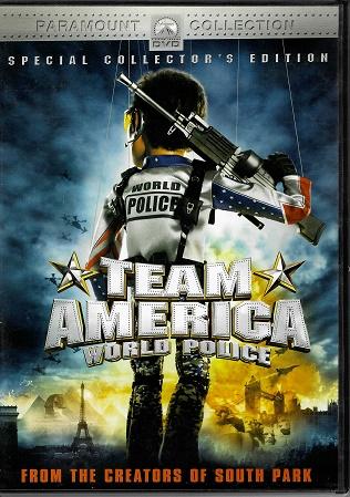 Team America - World Police - DVD plast