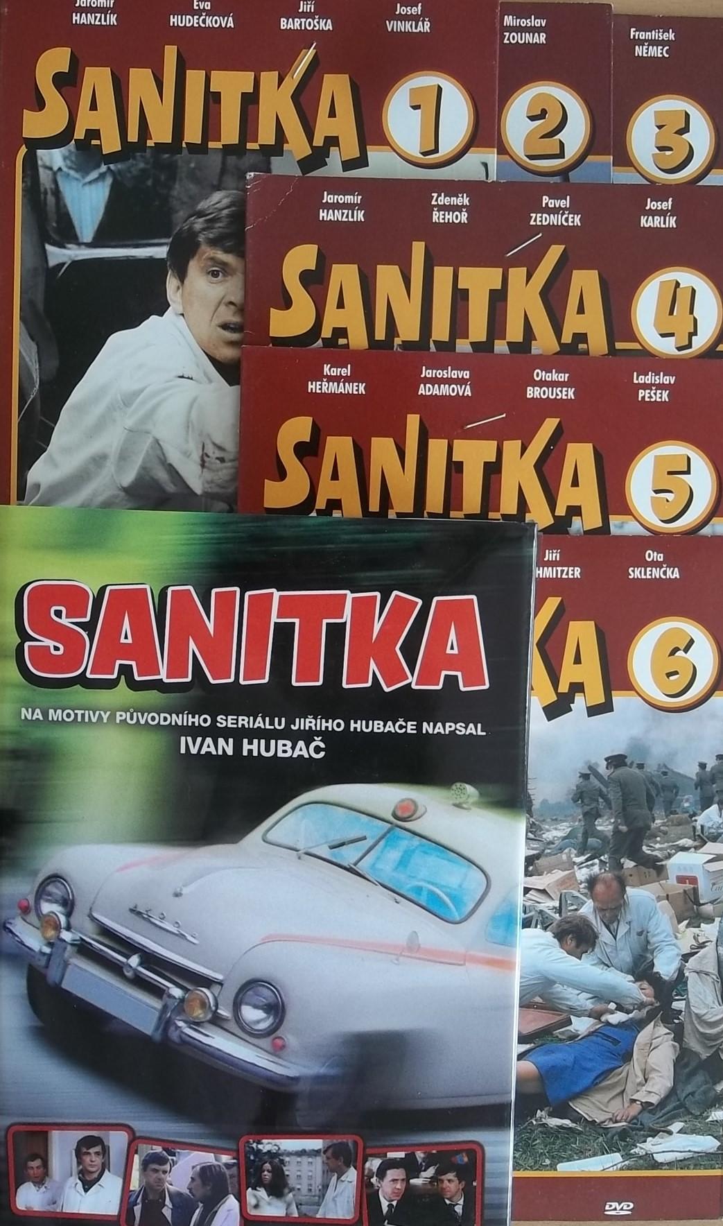 Sanitka - Ivan Hubač + 6DVD DÁREK