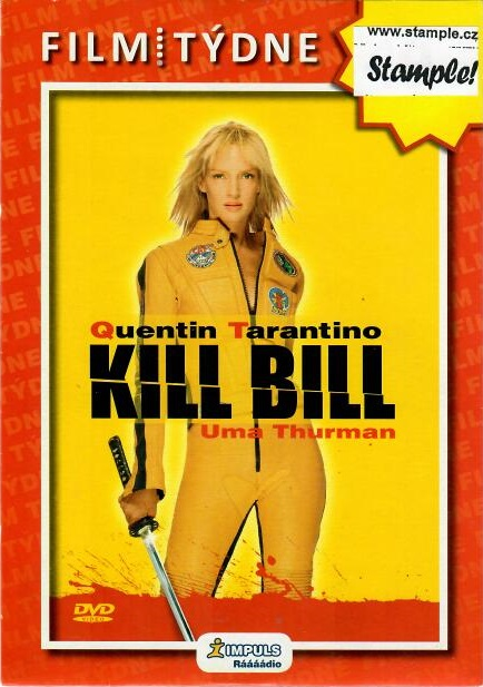 Kill Bill - DVD - pošetka