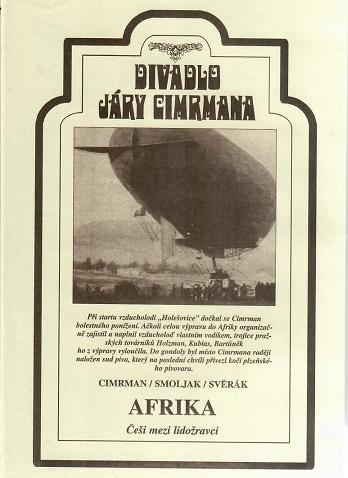Divadlo Járy Cimrmana ( Afrika ) - plast DVD