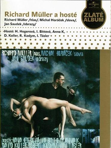 Richard Müller a hosté - papírový obal CD