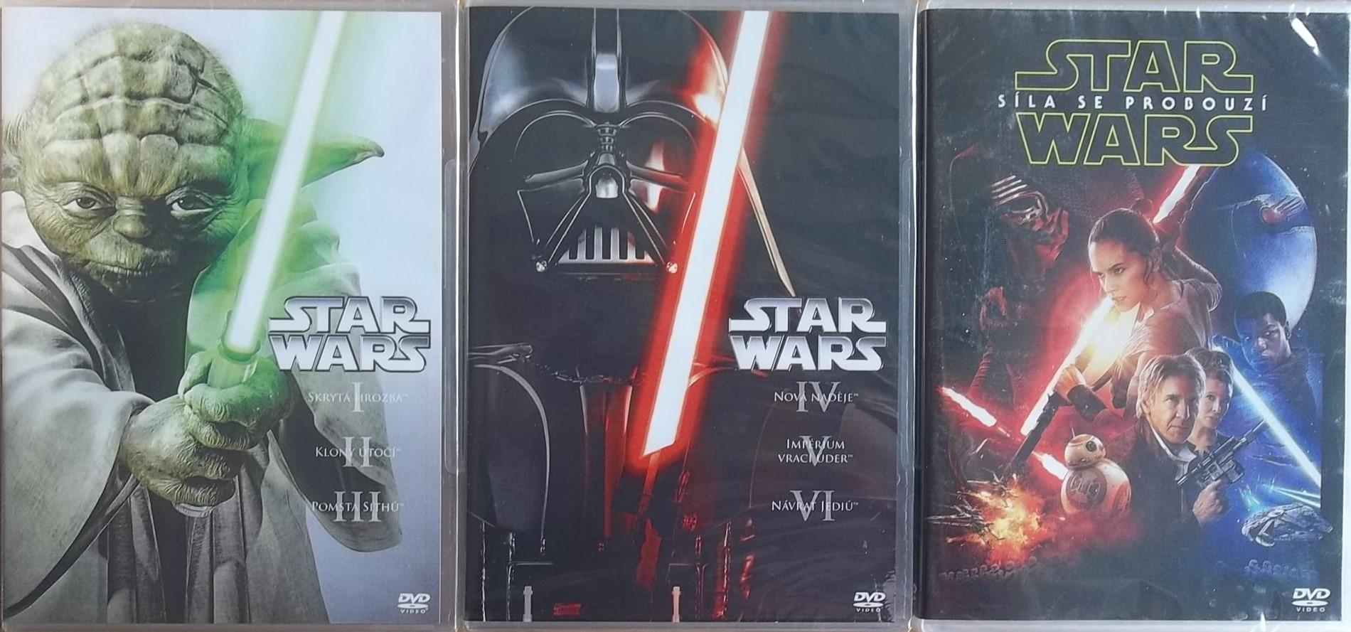 Kolekce Star Wars 2DVD + DÁREK: Síla se probouzí