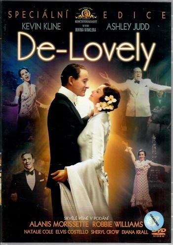 De-Lovely ( originální znění s CZ titulky ) - Plast DVD