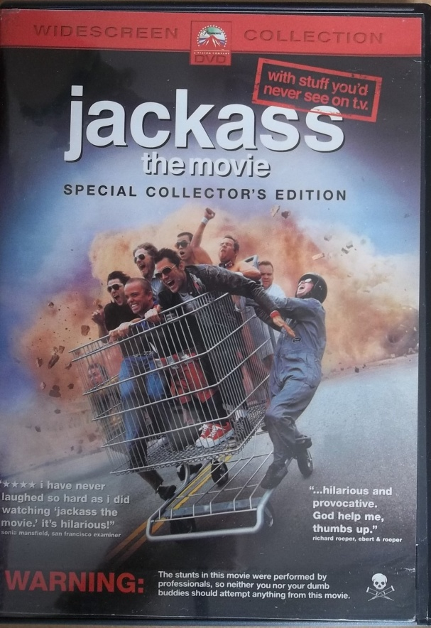 Jackass the movie (plast) - DVD