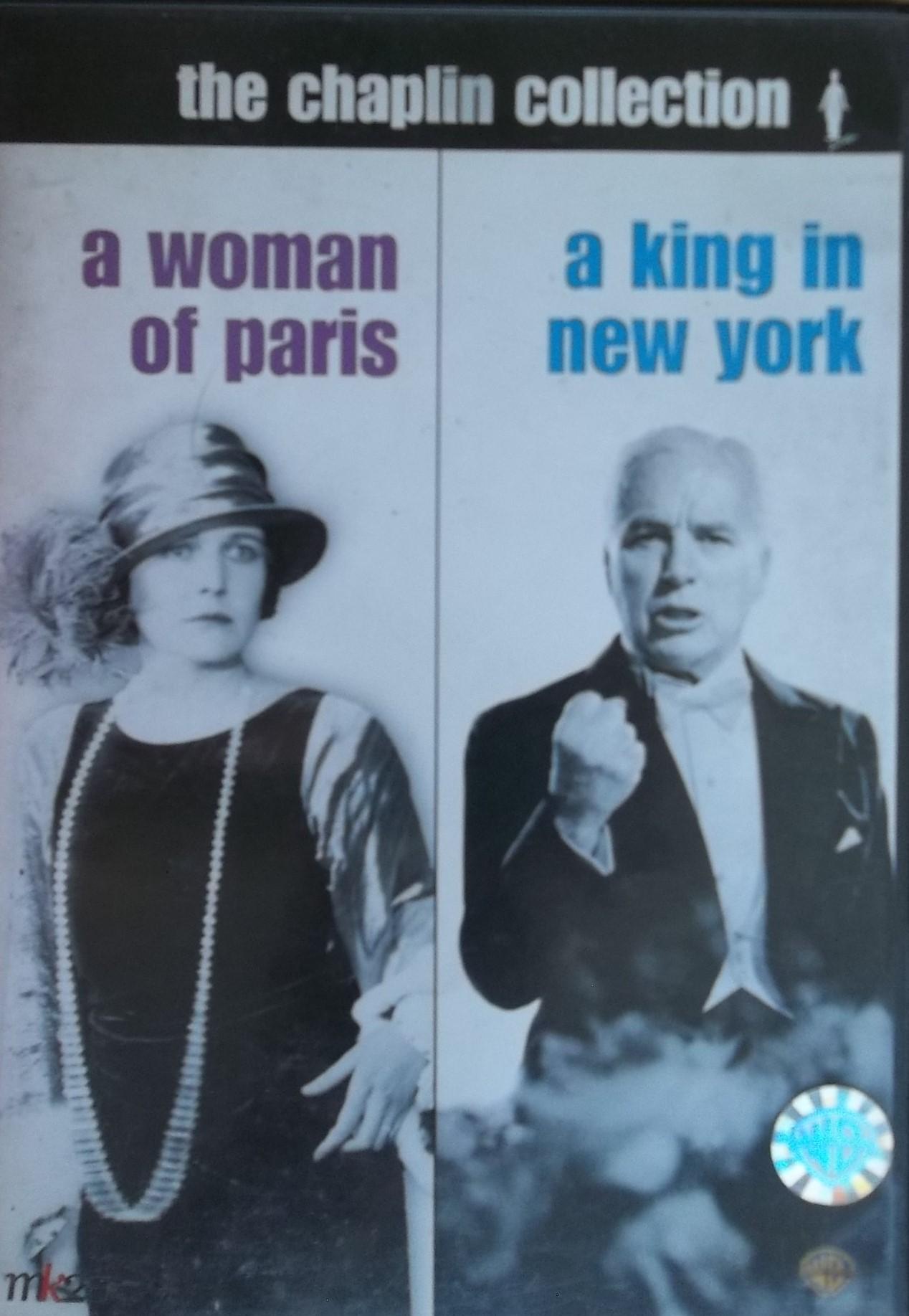 The Chaplin collection: A Woman of Paris, A king in New York  (bazarové zboží) D