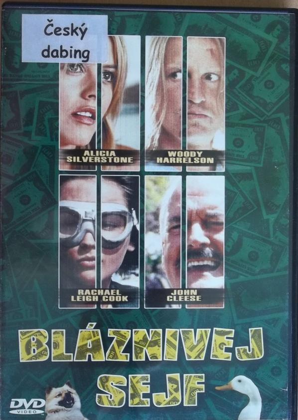 Bláznivej sejf (bazarové zboží) DVD