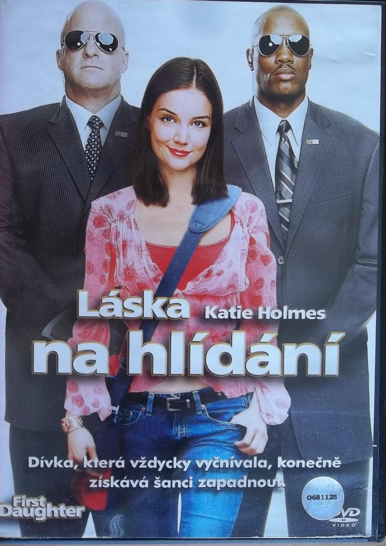 Láska na hlídání (bazarové zboží) DVD