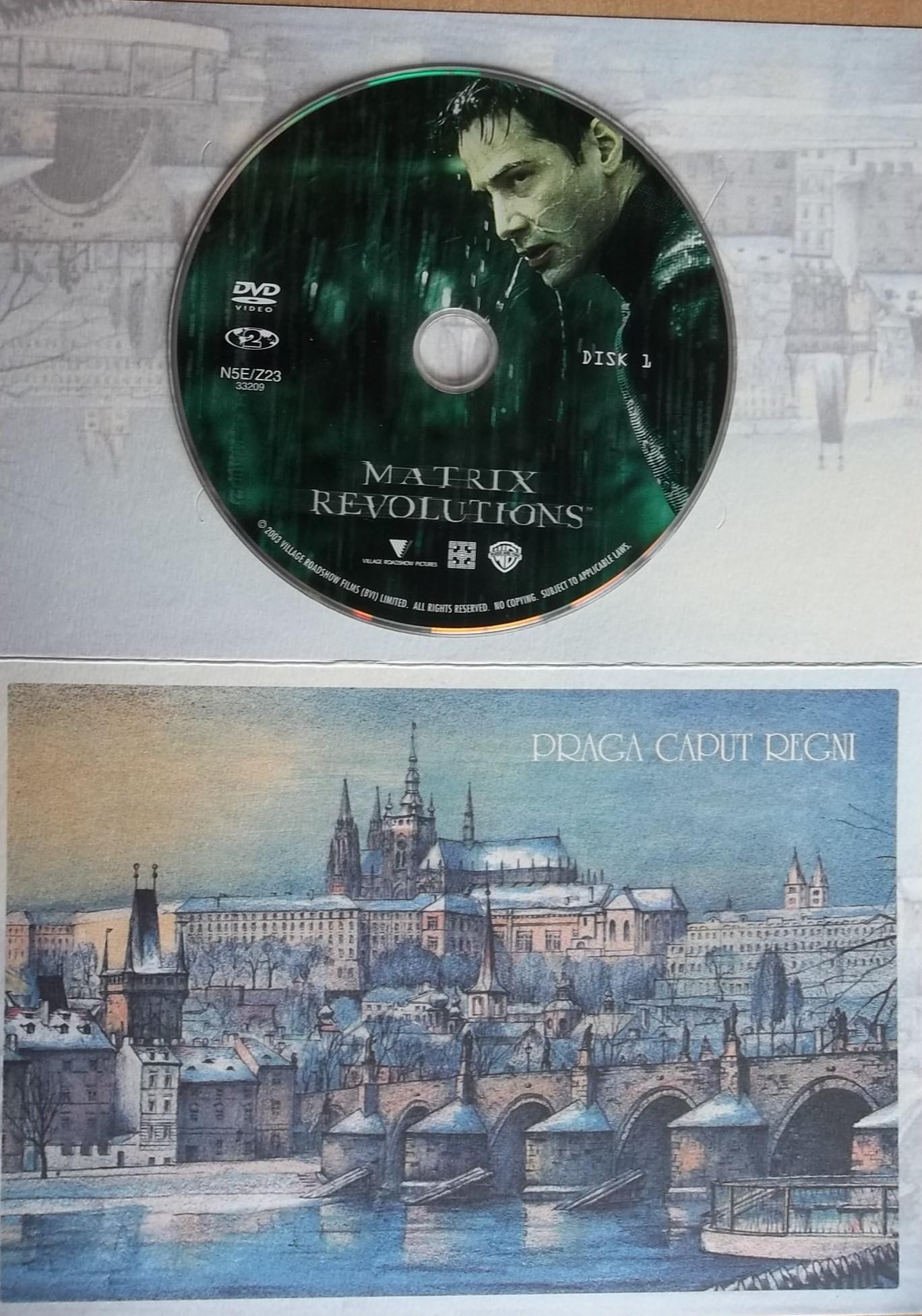 Matrix Revolutions 1 (dárková obálka) DVD