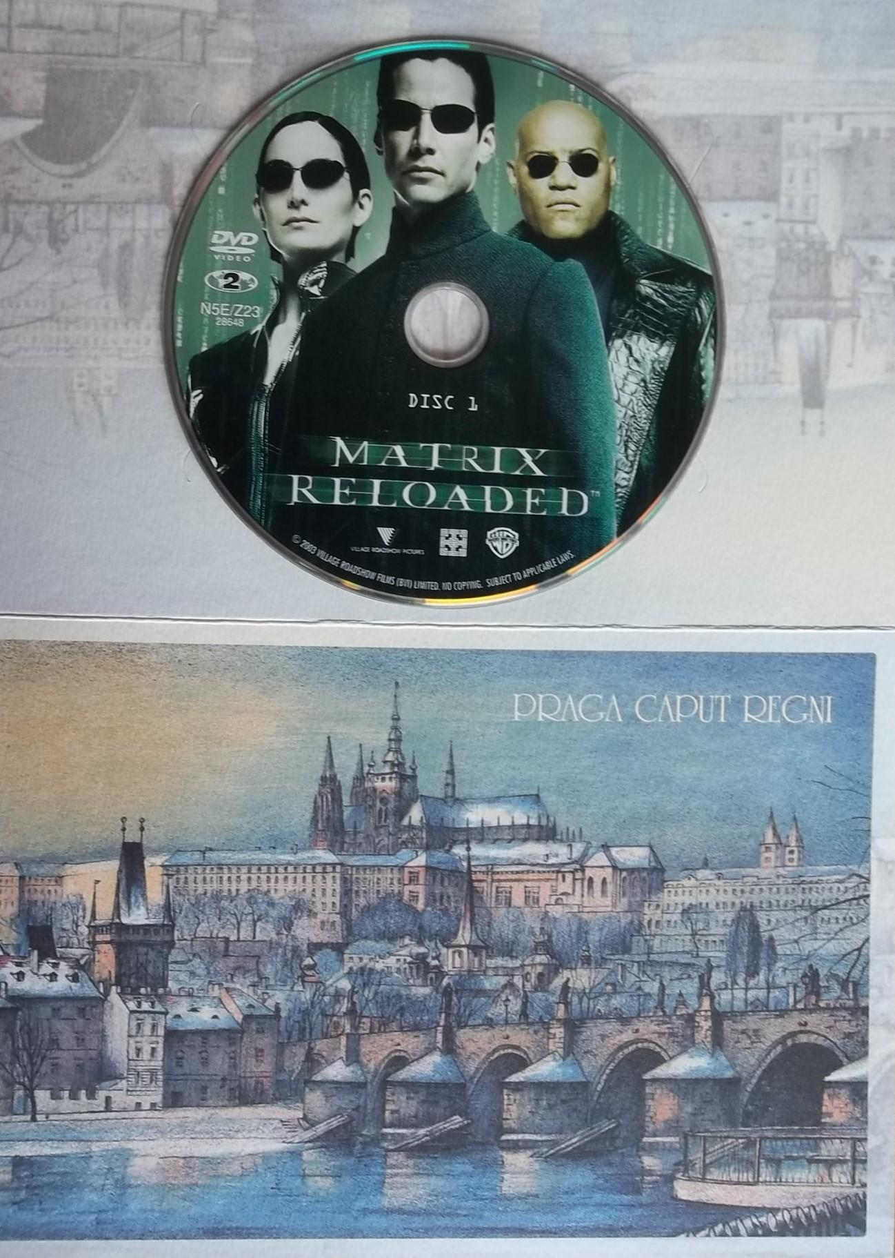 Matrix Reloaded 1 (dárková obálka) DVD