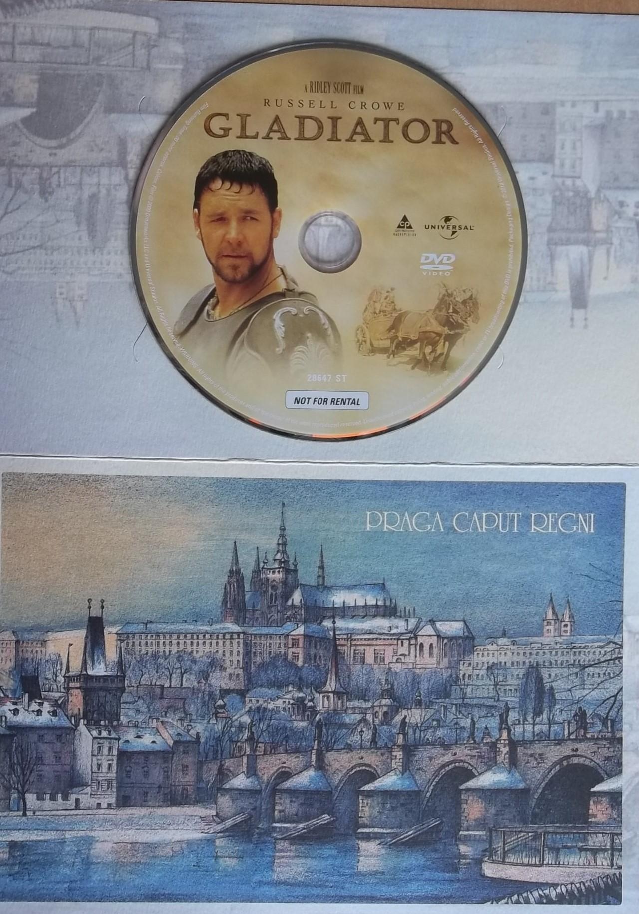 Gladiátor (dárková obálka) DVD