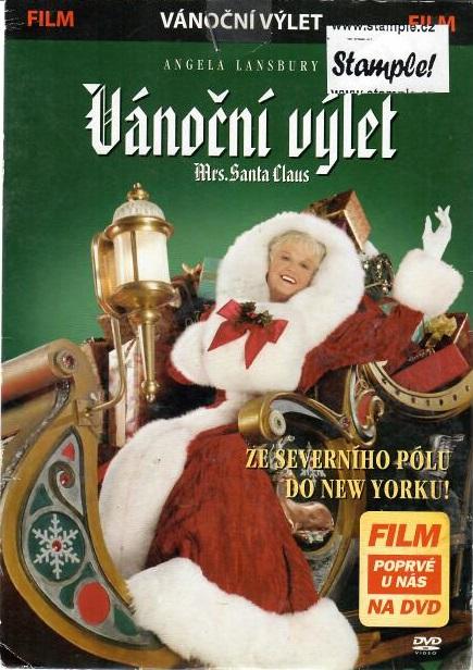 Vánoční výlet paní Santa Clausové - DVD pošetka