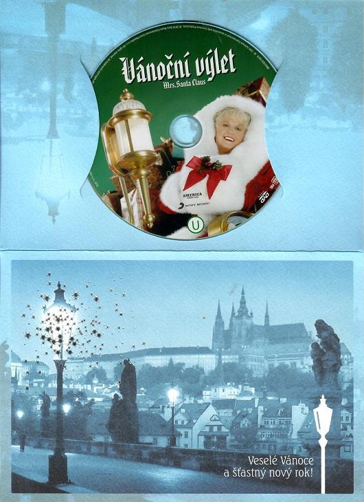 Vánoční výlet paní Santa Clausové ( dárkový papír obal ) - DVD