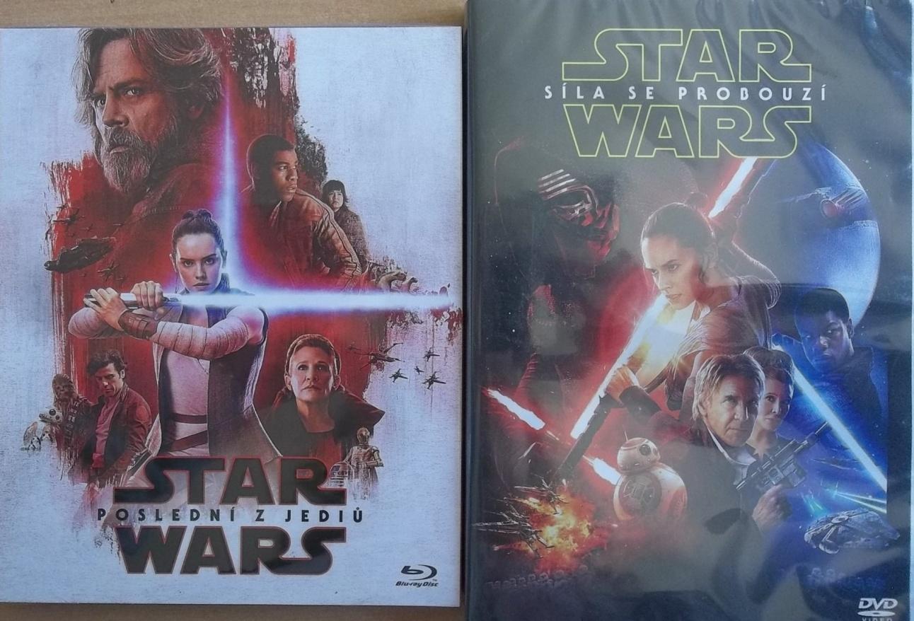 Star Wars: Poslední z Jediů 2BD (2D +bonusový disk-limitovaná  edice Odpor)
