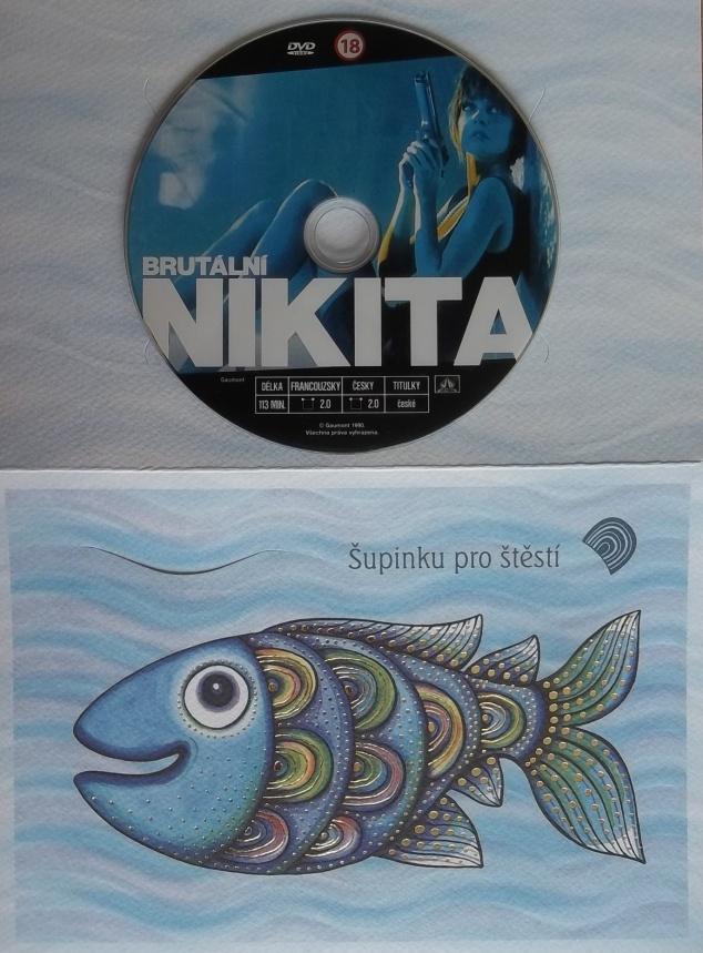 Brutální Nikita (dárková obálka) DVD