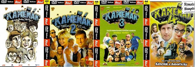Kolekce Kameňák 4x DVD