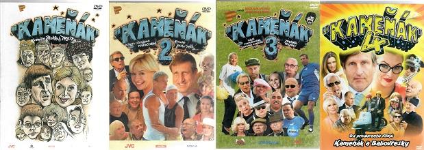 Kolekce Kameňák 4x DVD Plast ( bazarové zboží )